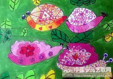 作品名称:  《快乐的小蜗牛》
