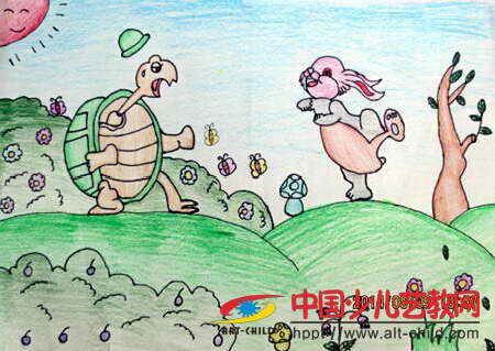 作品名称: 《龟兔赛跑》图片