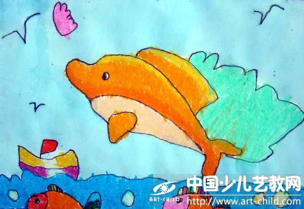 作品名称:  《小海豚莉莉》
