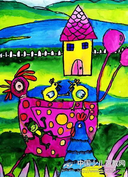 儿童画 433_600 竖版 竖屏