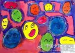 幼儿作品《谁的微笑》《表情变变图片